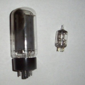5U4 and 6AL5 Vacuum tube Diodes
