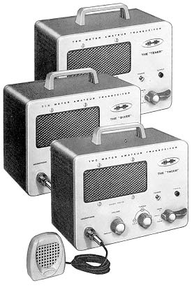 The Heathkit tener, sixer, and twoer (hw-19-29-30) made in the 1950s and 1960s used a super-regenerative receiver.