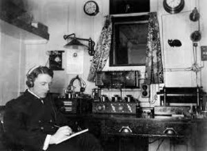 Radio Room on Titanic